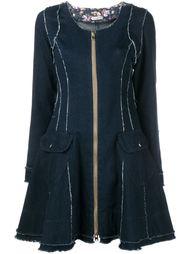 расклешенное джинсовое платье Natasha Zinko