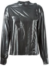 блузка 'Melva' с эффектом металлик Isabel Marant Étoile