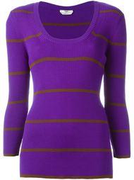 свитер в полоску  Fendi
