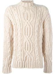 свитер узорной вязки Loewe