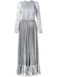 плиссированное вечернее платье Adam Lippes