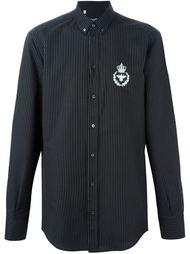 рубашка в горошек  Dolce & Gabbana