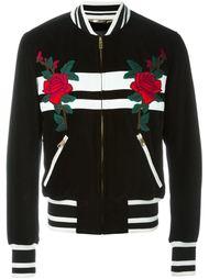 куртка-бомбер с вышивкой роз  Dolce & Gabbana