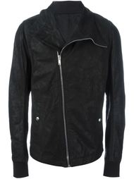 байкерская куртка с капюшоном  Rick Owens