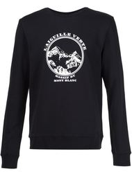 logo print sweatshirt A.P.C.
