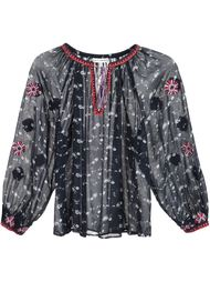 floral print peasant blouse Ulla Johnson