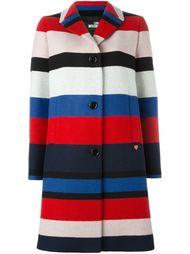 полосатое пальто Love Moschino