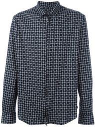рубашка на молнии Giorgio Armani
