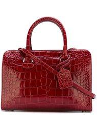 сумка-тоут 'Bauletto' с эффектом крокодиловой кожи  Giorgio Armani