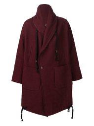 double breasted coat Uma Wang