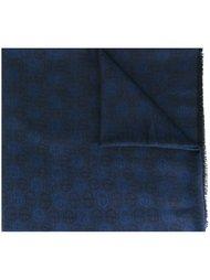 шарф с монограммным узором Giorgio Armani