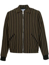 striped bomber jacket Second/Layer