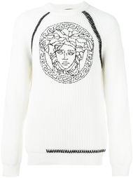 свитер с вышивкой  Versace