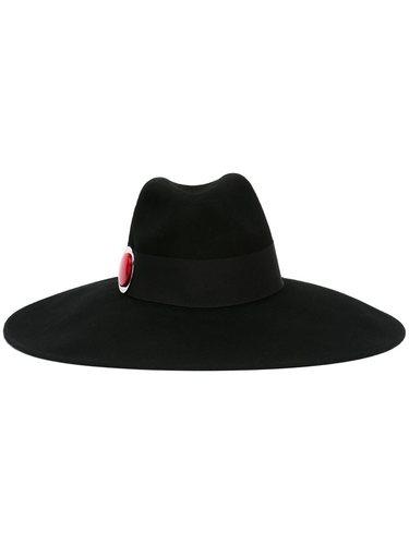 широкополая шляпа-федора Giorgio Armani
