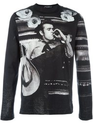 футболка с принтом James Dean  Dolce & Gabbana