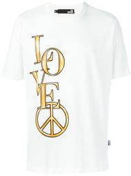 футболка с принтом Love Love Moschino