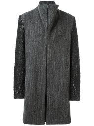 пальто с контрастными рукавами Lost & Found Ria Dunn
