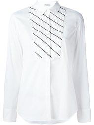 рубашка в диагональную полоску Brunello Cucinelli