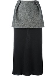 layered midi skirt Maison Margiela