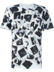 футболка с принтом фотографий Maison Margiela