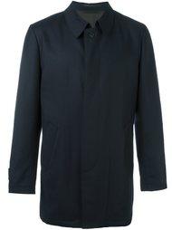 пальто с потайной застежкой Corneliani