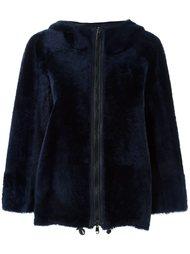 куртка с капюшоном на молнии Brunello Cucinelli