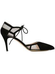 туфли с сетчатыми вставками  Bionda Castana