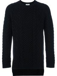 свитер с узорной вязкой Ports 1961