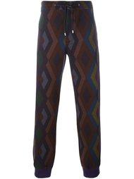 geometric print track pants Etro
