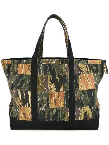 сумка-тоут с камуфляжным принтом  Palm Angels