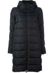hooded puffer coat Herno