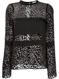 leopard print blouse Emanuel Ungaro
