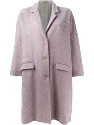 однобортное пальто свободного кроя Romeo Gigli Vintage
