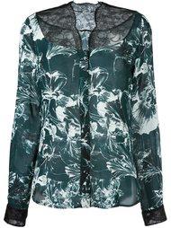 floral print blouse Emanuel Ungaro