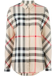 house check shirt Burberry Brit