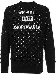 perforated sweatshirt Vivienne Westwood Anglomania