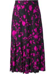 юбка с цветочным принтом Jean Louis Scherrer Vintage
