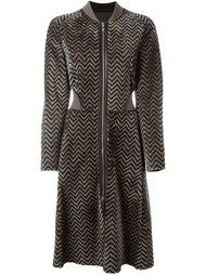 пальто на молнии Giorgio Armani