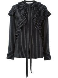 pinstripe ruffle shirt Givenchy