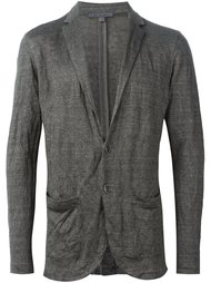 crinkled blazer sweater John Varvatos