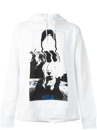abstract print hoodie Hood By Air