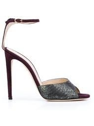 snakeskin sandals Chloe Gosselin