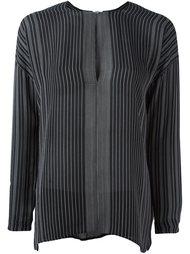 thin stripe blouse Vince