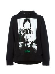 abstract print hoodie Hood By Air