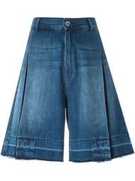 denim bermuda shorts Diesel