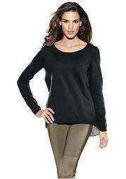 Удлиненный пуловер PATRIZIA DINI