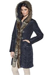 Стеганое пальто PATRIZIA DINI