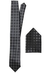 Комплект: галстук + платок