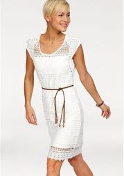 Комплект: кружевное платье + пояс Kangaroos
