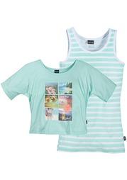 Комплект: футболка + топ Arizona